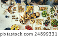 Food Cuisine Culinary Buffet Party Concept 24899331