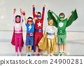 arms, raised, children 24900281