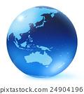 地球儀 土地 土 24904196