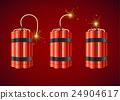 dynamite bomb explosive 24904617