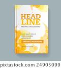 Book Flyer Placard Template. Vector 24905099
