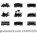 火车 矢量 矢量图 24905420