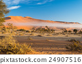 The Namib desert, roadtrip in Namibia, Africa. 24907516