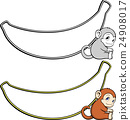 monkey, monkeys, baby 24908017