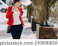 girl with the electronic cigarette 24908800