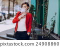 girl with the electronic cigarette 24908860