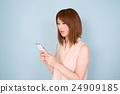 智能手機 智慧型手機 女性 24909185