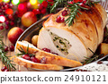 Turkey  breast for holidays. 24910121