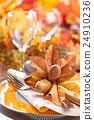 Thanksgiving dinner decoration. 24910236