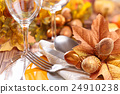Thanksgiving dinner decoration. 24910238
