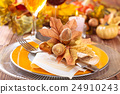 Thanksgiving dinner decoration. 24910243