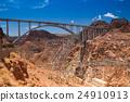 Colorado River Bridge - Bypass for the Hoover Dam 24910913