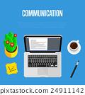 communication, workspace, office 24911142