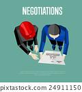 商業 商務 談判 24911150