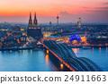 Cologne at dusk 24911663