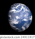 地球儀 土地 土 24911917