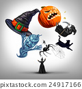 Halloween Juggling witch 24917166