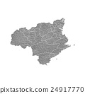 도쿠시마 현지도 24917770