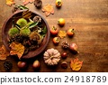 chestnuts in burrs, chestnut, chestnuts 24918789