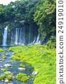 白絹之瀑 牡丹餅 瀑布 24919010