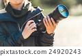 攝影師 照相機 女性 24920243