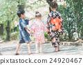 Yukata (an informal cotton kimono) 24920467