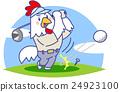 鳥兒 鳥 高爾夫 24923100