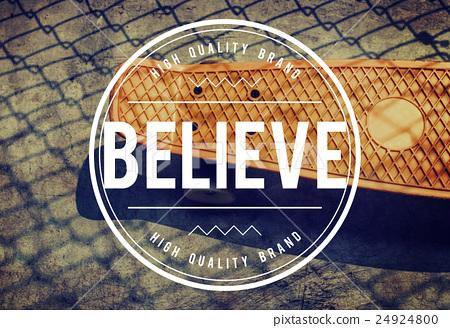 Believe Faith Hope Ideas Imagination Inspiration Concept 24924800