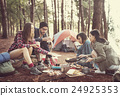 People Friendship Hangout Traveling Destination Camping Concept 24925353