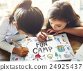 Summer Kids Camp Adventure Explore Concept 24925437