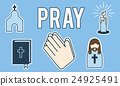 Pray Faith Prayer Praying Religion Spiritual God Concept 24925491