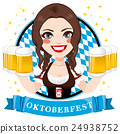 Oktoberfest Beer Waitress 24938752