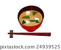 味增湯 豆腐 筷子架 24939525