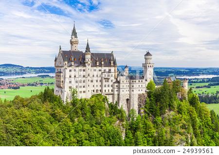 Neuschwanstein Castle from Marien Bridge 24939561