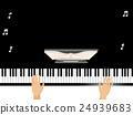 Hands Grand Piano 24939683