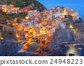 Night Manarola, Cinque Terre, Liguria, Italy 24948223