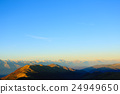 Mountains top on blue sky 24949650