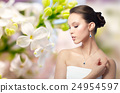 woman, jewelry, earring 24954597