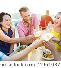 celebration, drinking, eating 24961087