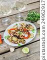 grilled calamari 24962917