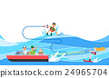 汽船 海 極端的 24965704