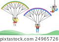 小組 團隊 降落傘 24965726