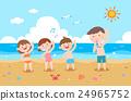海滩 人物 人 24965752
