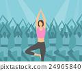 瑜珈 瑜伽 女孩 24965840
