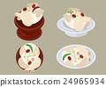 韓國菜 插圖 銀行 24965934
