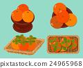 水果 甜柿 柿子 24965968