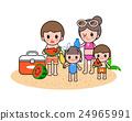 海滩 家庭 家族 24965991
