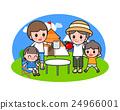 露營 野餐 家人 24966001