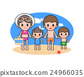 海滩 家庭 家族 24966035