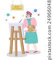藝術家 繪畫 人物 24966048